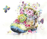 Boot & Flowers